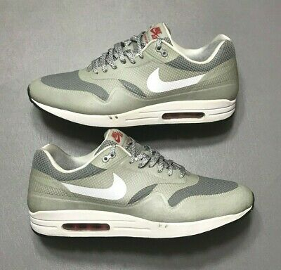 2012 Nike Air Max 1 Hyperfuse Metallic Silver 3M Reflective Size 13 (543213 016) | eBay