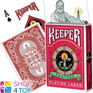 Keeper Standard Playing Cards Deck Brand New Sealed