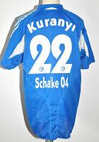 2004-05 S04 Schalke 04 Trikot #22 Kuranyi Gr.XL Adidas Home RAR blau weiß Jersey