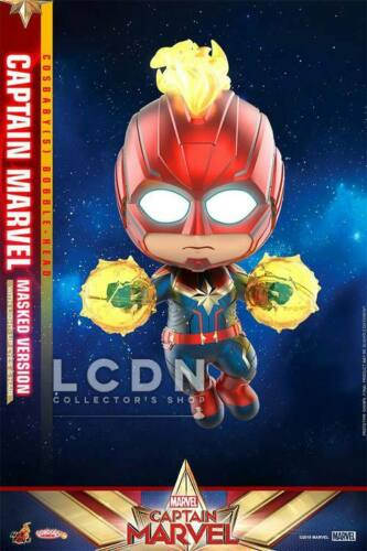 Hot Toys COSB545 Captain Marvel Masked Version Cosbaby S Bobble-Head 10cm