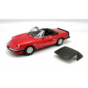 Alfa Romeo Spider 3 serie 2 1986 rojo 1:18 1 of 1250 KK-scale nuevo /& OVP 180191