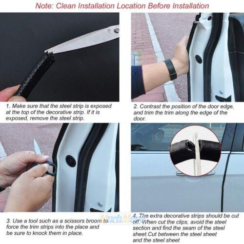 26feet Car Rubber Seal Trim Molding Strip Door Edge Lock Protector All Weather