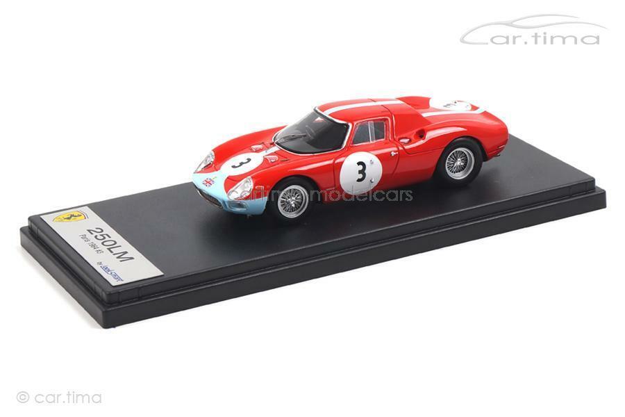 oferta especial Ferrari 250lm 250lm 250lm - 1000 km de Paris 1964-SCochefiotti steward-LookSmart 1 43 - LSR  envío rápido en todo el mundo