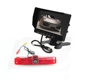 "For 2003-15 Chevrolet Express /GMC Savana Van Brake Light Camera Kit +7"" Monitor"
