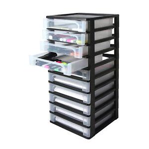 Cassettiere Per Ufficio Plastica.Cassettiera Da Ufficio In Robusta Plastica A 10 Cassetti X Fogli