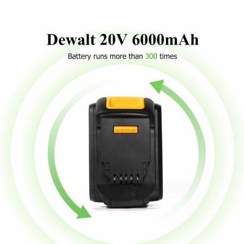 For DeWalt DCB205-2 DCB206-2 20V Max XR 6.0Ah DCB204-2 DCB200-2 Lithium Battery