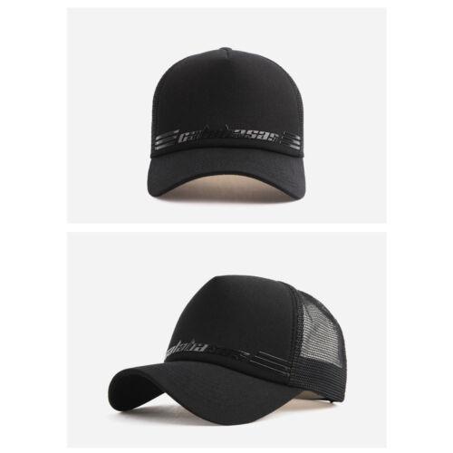 XL~2XL 60~63Cm Unisex Mens Calabasas Mesh Baseball Cap Trucker Snapback Hats
