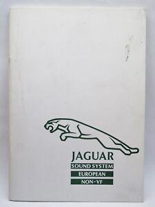 JAGUAR-XJ40-CLARION-RADIO-SOUND-SYSTEM-HANDBOOK-MANUAL-EUROPE-NON-VF-280-5100-00
