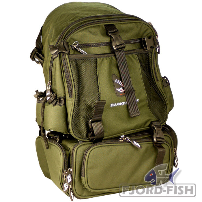 IRON CLAW Backpacker Rucksack Angelrucksack Angeltasche Angelkoffer Bag Box
