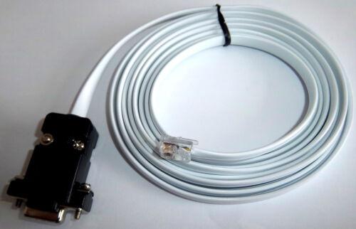 RS232 UNITRONICS DSUB9 TO RJ12 PLC DATA CABLE