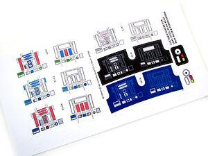 DIE CUT STICKERS For STAR WARS VINTAGE RD CUSTOM VARIATIONS - Star wars custom die cut stickers