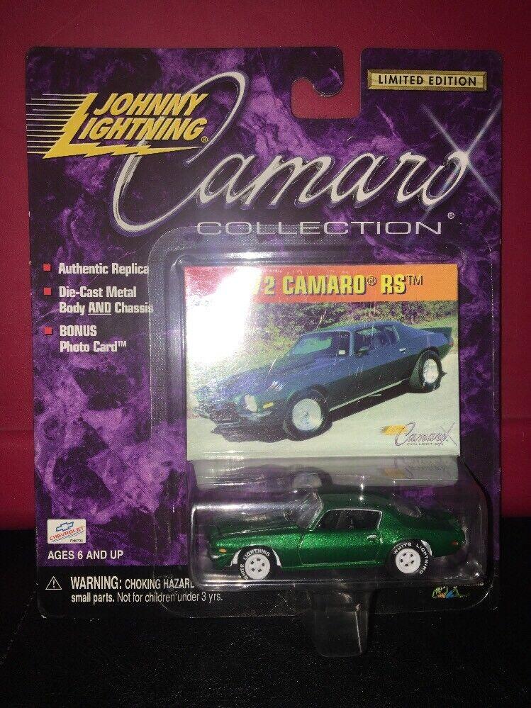 con 60% de descuento Jonhnny Colección 1972 Camaro RS RS RS Camaro Lightning blanco Lightning Raro  a la venta