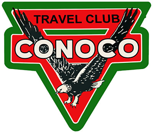 Conoco Reproduction Laser Cut Out Sign 18.5x21.5