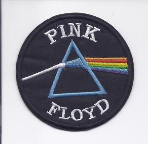 """Pink Floyd~Dark Side of the Moon~Embroidered Patch~3/"""" x 2/""""~Iron Sew~Ships FREE"""