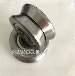 1pc LV202-40 V Groove 15*40*18mm Sealed Ball Track Roller Guide Vgroove Bearing