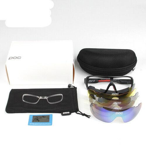 5 Stück POC Sonnenbrille Polarisiert Fahrradbrille Sportbrille Brille 2020 OS**