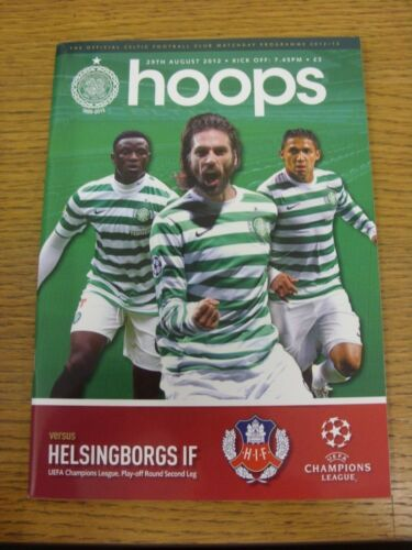 29082012 Celtic v Helsingborgs Champions League . Thank you for viewing this