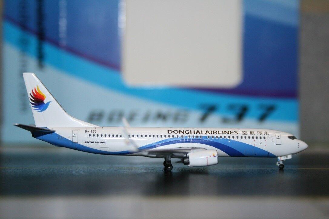 Panda Model Skywings 1 400 Donghai Airlines Boeing 737-800 B-1770 (PM-B-1770)
