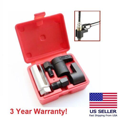 5pc O2 Oxygen Sensor Socket thread Chaser Install Offset Wrench Vacuum M12 M18