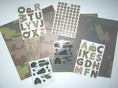 Army Scrapbook Kit