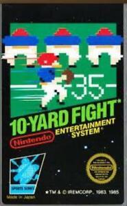 10 Yard Fight Nintendo NES Game Used
