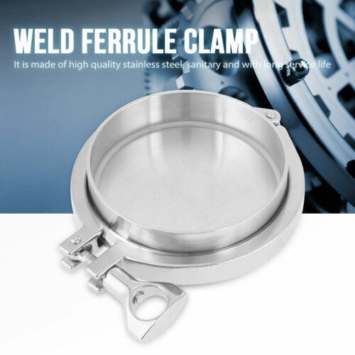 """4/"""" Weld Ferrule 4/"""" End Cap 4/"""" Gasket Sanitary SS316 4/"""" Tri-clamp"""