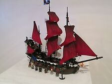 Lego Pirates of the Caribbean set 4195 Queen Ann's Revenge *100% COMPLETE!*