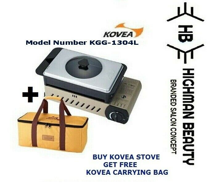 Kovea 3WAY ALL IN ONE (L) KGG-1304 (KN8BB0104) gaz Stove Outdoor Camping Barbecue + Sac
