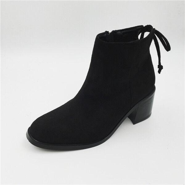 botas bajo zapatos botas militares 4 cm cm cm negro elegantes como piel 9516  Con precio barato para obtener la mejor marca.