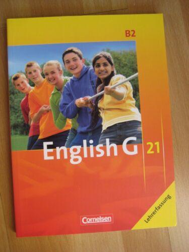 1 von 1 - English G 21. Ausgabe B 2. Schülerbuch (LEHRERFASSUNG) NEU