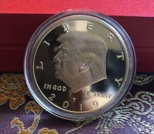 President Donald Trump Inaugural Silver EAGLE Coin