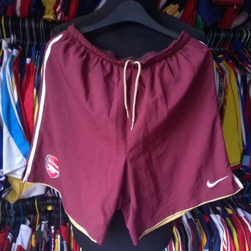 M Football Rote Shorts Arsenal Erwachsene Größe Nike 2007 Soccer Gunners Johannisbeere vCxFqw