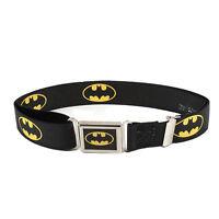 Buckle Down Kids' Magnetic Buckle Dc Comics Batman Stretch Belt on sale