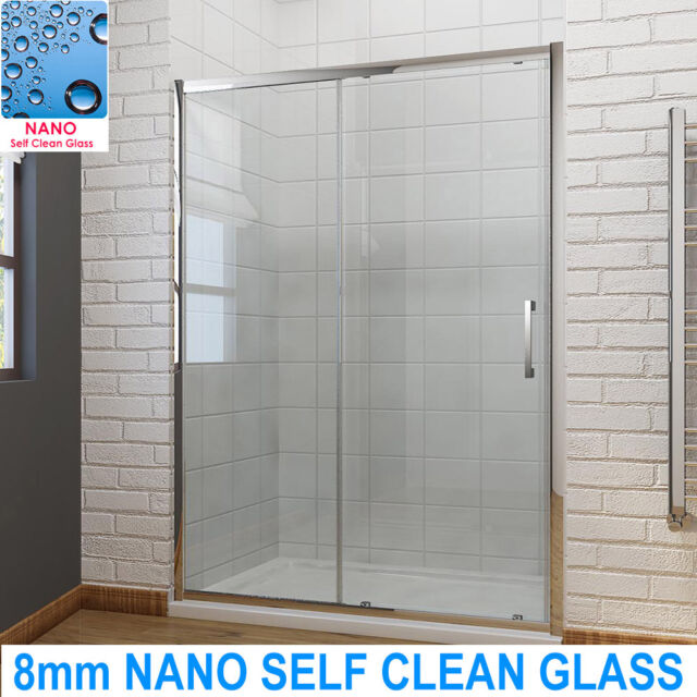 8mm Easy Clean Glass 1200mm Cubicle, Shower Stall Glass Doors Clean