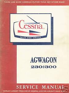 CESSNA-188-AGWAGON-230-AND-300-SERIES-SERVICE-MANUAL