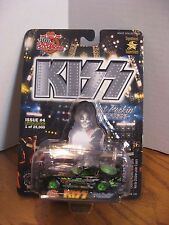 Racing Champions Hot Rockin' Steel - Peter Criss Car - Cat Man w/ Stand 1:64