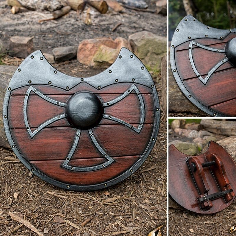 LARP Goblin Shield - Made With Safe Latex And Foam. Perfect For The Battle Field