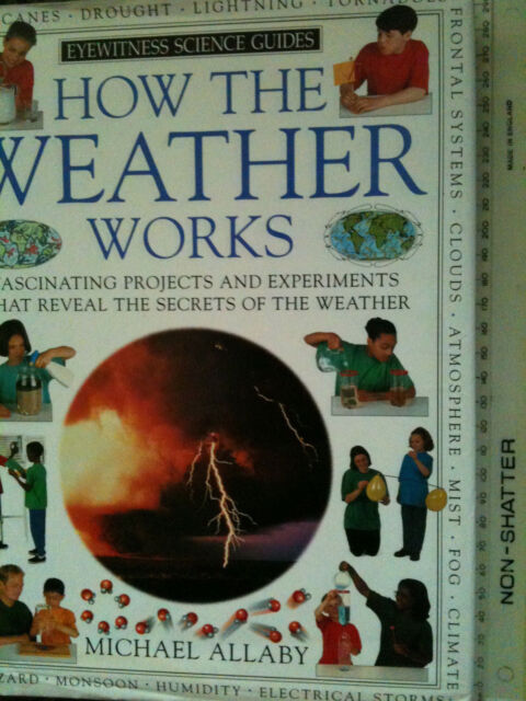 How the Weather Works by Michael Allaby (Hardback, 1995) science meteorology KS2