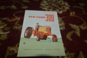 Case 300 Tractor Brochure FCCA