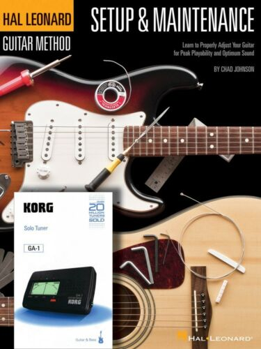 Korg Chromatic 000697392 Hal Leonard Guitar Method Setup /& Maintenance Book