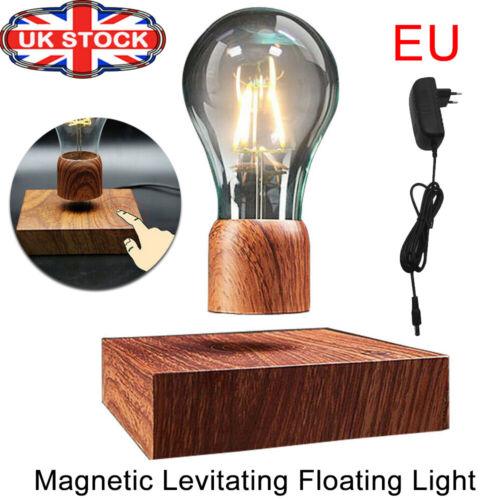 Magnetic Levitating Floating Light Bulb Lamp for Unique Gifts Home Décor EU