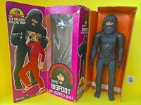 RARE - SIX MILLION DOLLAR MAN - BIONIC BIGFOOT - BOXED With INSERT - 1975 KENNER