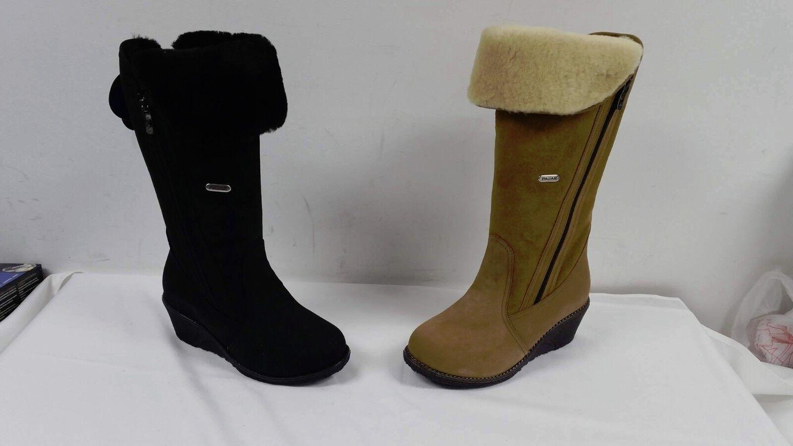 Pajar Women's Blaire Boot, Nubuck Black/DFS - NEW , Different Sizes & Colors
