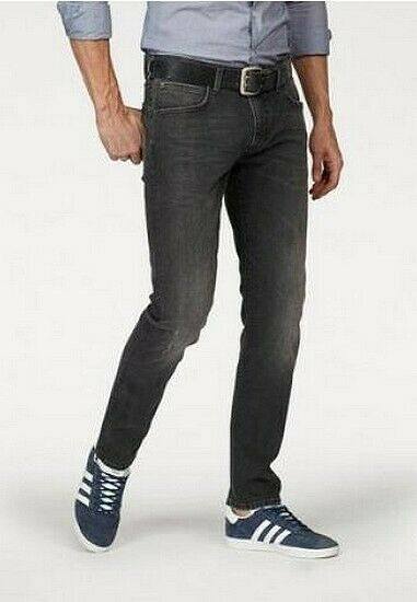 8019f17dd4 Lee Jeans Luke Slim Fit Tapered w32-w36 l34 l34 l34 Uomo Denim nero ...