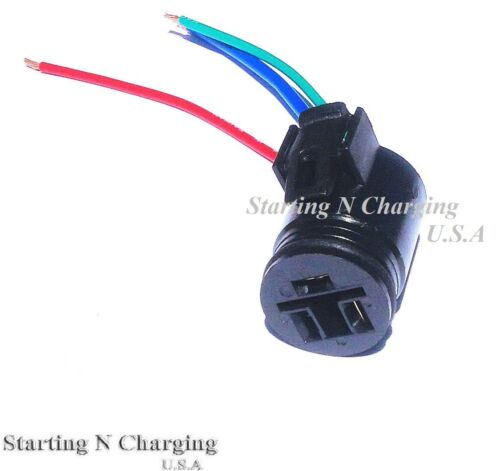 3 Wire Alternator Harness Repair Plug Connector Fit For Chevy ...