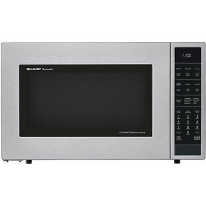 Sharp 1.5 Cu. Ft. 900 Watts Stainless Steel Countertop Convection Microwave