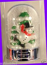 Bath Body Works Wallflower Light-Up KIT FROSTED CRANBERRY Bulb Diffuser Snowman