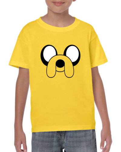 Jake the Dog Adventure Time T-Shirt Cartoon Network Kids Unisex T-Shirt