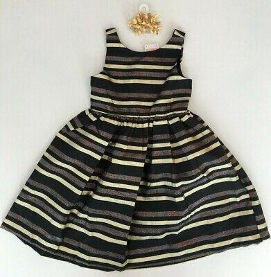 Gymboree Girls Gold Dressy Dress Church Holiday Size 6 NEW $44.95