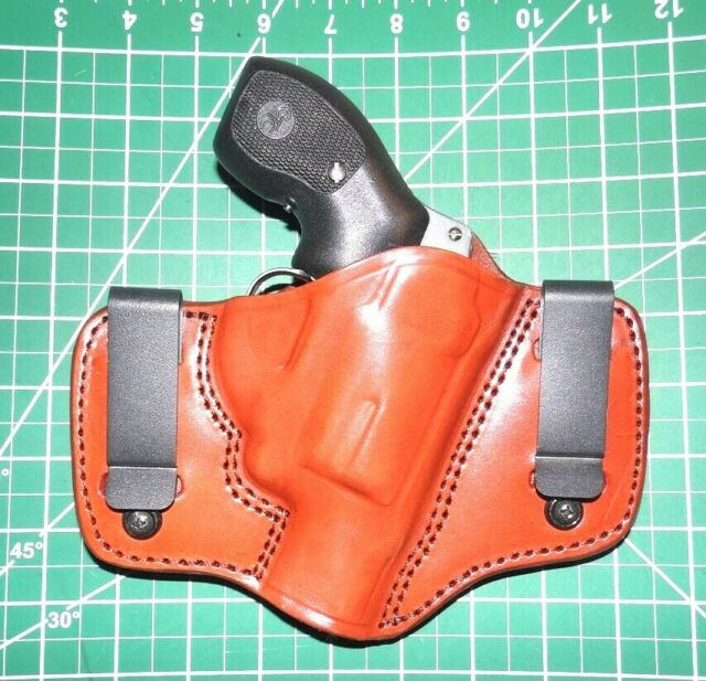 Tagua Dch-727 RH Dual Clip Leather IWB Holster S&w 2